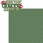 St. Patty's: Kiss The Blarney Stone 2 Piece Laser Die Cut Kit