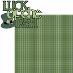 St. Patty's: Luck Of The Irish 2 Piece Laser Die Cut Kit