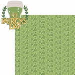 St. Patty's: St Patrick's Day 2 Piece Laser Die Cut Kit