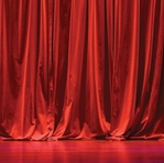 Stage Curtain 12 x 12 Paper