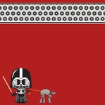 Star Wars Babies: Darth Vader 12 x 12 Paper
