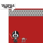 Star Wars Babies: Darth Vader 2 Piece Laser Die Cut Kit