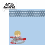 Star Wars Babies: Luke Skywalker 2 Piece Laser Die Cut Kit
