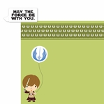Star Wars Babies: Obi Wan Kenobi 2 Piece Laser Die Cut Kit
