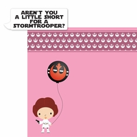 Star Wars Babies: Princess Leia 2 Piece Laser Die Cut Kit