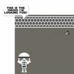 Star Wars Babies: Stormtrooper 2 Piece Laser Die Cut Kit