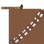 Star Wars Characters: Chewbacca 2 Piece Laser Die Cut Kit
