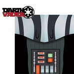Star Wars Characters: Darth Vader 2 Piece Laser Die Cut Kit
