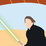 Star Wars Characters: Luke Skywalker 12 x 12 Paper