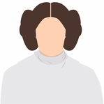 Star Wars Characters: Princess Leia 12 x 12 Paper