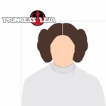 Star Wars Characters: Princess Leia 2 Piece Laser Die Cut Kit