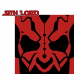 Star Wars Characters: Sith Lord 2 Piece Laser Die Cut Kit