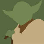 Star Wars Characters: Yoda 12 x 12 Paper