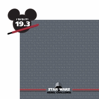 Star Wars Run: Rebel 2 Piece Laser Die Cut Kit