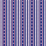 Stars and Stripes: Liberty Stripe 12 x 12 Double-Sided Paper