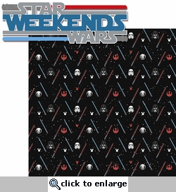 StarWars Weekend 2 Piece Laser Die Cut Kit