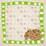 Story Time: If You Give A Mouse A Cookie 12 x 12 Paper
