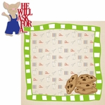 Story Time: If You Give A Mouse A Cookie2 Piece Laser Die Cut Kit