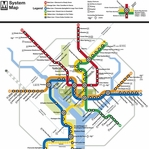 Subways: Washington D.C 12 x 12 Paper