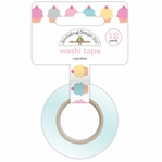 Sugar Shoppe: Cupcakes Washi Tape 15mm x 12 yds