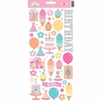 Sugar Shoppe: Icon 6 x 12 Cardstock Sticker Sheet