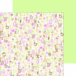 Sugar & Spice: Alphababies Girl 12 x 12 Double-Sided Cardstock