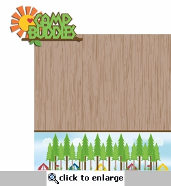 Summer Camp: Camp Buddies 2 Piece Laser Die Cut Kit