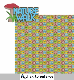 Summer Camp: Nature Walk 2 Piece Laser Die Cut Kit