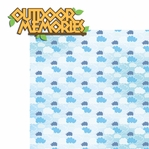 Summer Camp: Outdoor Memories 2 Piece Laser Die Cut Kit