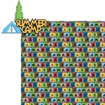 Summer Camp: Summer Camp 2 Piece Laser Die Cut Kit