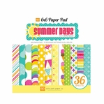 Summer Days: 6 x 6 Paper Pad