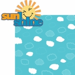 Summer Love: Sunshine 2 Piece Laser Die Cut Kit