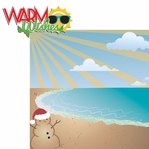 Sunny Christmas: Warm Wishes 2 Piece Laser Die Cut Kit