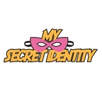 Super Kid: Secret Identity Girl Laser Die Cut