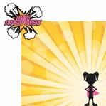 Super Kid: Super Powers Girl Laser Die Cut Kit