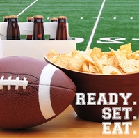 Superbowl XLIX: Snacks 12 x 12 Paper