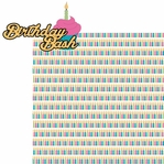 Sweet Sixteen: Birthday Bash 2 Piece Laser Die Cut Kit