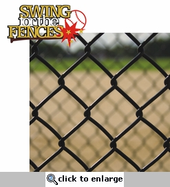 Swing For The Fences 2 Piece Laser Die Cut Kit
