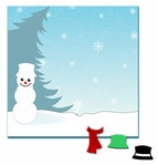 SYT 1-2-3 Snowman 12 x 12 Layout Kit