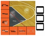 SYT Style-N-Slides Basketball 12 x 12 Layout Kit