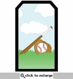 SYT Tag-UR-It Baseball In Grass Photo Tag