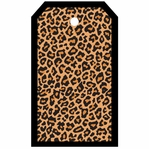 SYT Tag-UR-It Cheetah Print Photo Tag