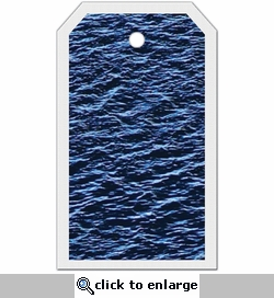 SYT Tag-UR-It Deep Blue Ocean Water Photo Tag