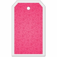 SYT Tag-UR-It Doodled Hearts Photo Tag