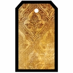 SYT Tag-UR-It Golden Damask Photo Tag