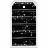 SYT Tag-UR-It Inverted Music Notes Photo Tag