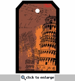 SYT Tag-UR-It Leaning Tower of Pisa Photo Tag