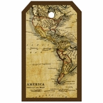 SYT Tag-UR-It Old America Map Photo Tag