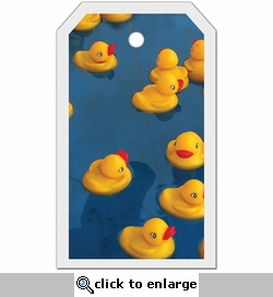 SYT Tag-UR-It Rubber Ducky Blue Photo Tag
