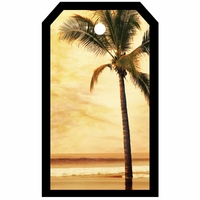 SYT Tag-UR-It Sepia Palm Tree Photo Tag